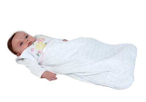 De bolsa de saco de dormir Atrapasueños con texto en inglés de la margarita de la margarita blanco roto blanco Talla:18-36mths, 1tog: Amazon.es: Bebé