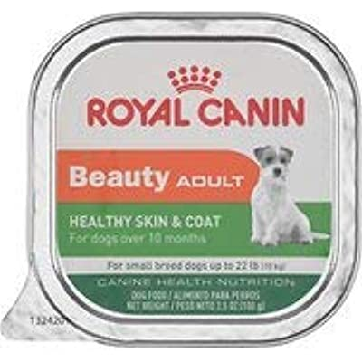 Royal Canin Beauty Adult Healthy Skin & Coat Small Breed Dog Food Trays 24/3.5 oz