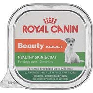 Royal Canin Beauty Adult Healthy Skin & Coat Small Breed Dog Food Trays 24/3.5 oz by Royal Canin