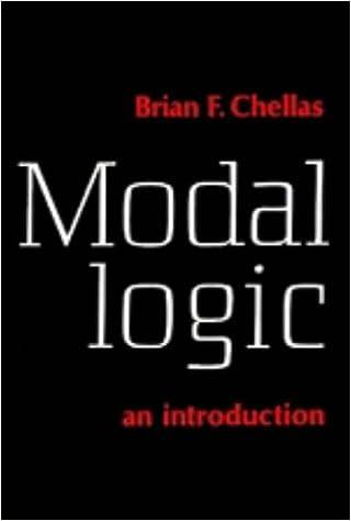 Modal Logic: An Introduction - Chellas