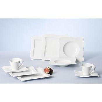 villeroy boch royal white 30 piece dinnerware set service for 6 dinnerware sets. Black Bedroom Furniture Sets. Home Design Ideas