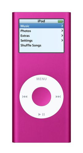 Apple iPod nano 4 GB Pink (2nd Generation)  (Discontinued by Manufacturer)