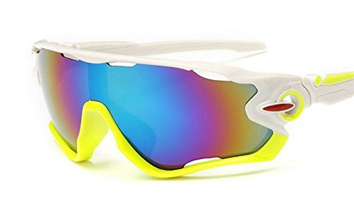 Amobby Polarized Sports Sunglasses UV400 Protection Cycling Glasses, Baseball ,Fishing, Ski Running - See The To Sunglasses Fish In Water