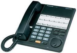 Systems Telephone Kx Td (Panasonic KX-T7420 Phone Black)