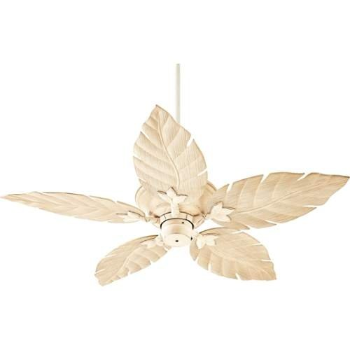 Quorum International 135525 Monaco 52'' 5 Blade Hanging Outdoor Ceiling Fan with - persian white
