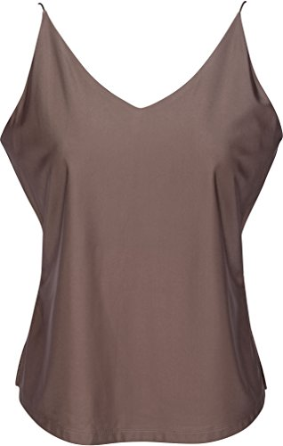(Sexy Women's Camisoles   Assorted Colors and Sizes up to XXL by Lace Republic Taupe)