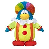Disney Club Penguin 6.5 Inch Series 15 Plush Figure Clown Includes Coin with Code!