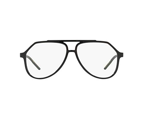 Dolce & Gabbana Men's Eyeglasses D&G DG5038 DG/5038 501 Black Optical Frame ()