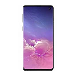 Samsung Galaxy S10 Factory Unlocked Phone with 128GB – Prism Black