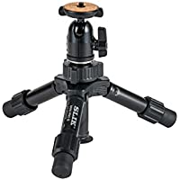 SLIK Mini Pro III Table Top Tripod, 2-Section, Max 10 Black (611-351)