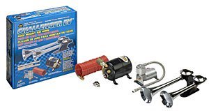 Wolo (815) Challenger EV Roof Mount Air Horn - Maunal Lanyard Valve (Marine Hose Rig)