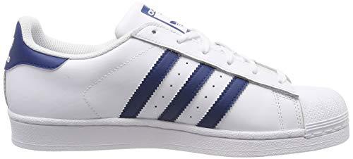 De Marine ftwr Adidas White Superstar Unisex Niños Para ftwr Gimnasia legend Zapatillas Blanco J White ggAtTq