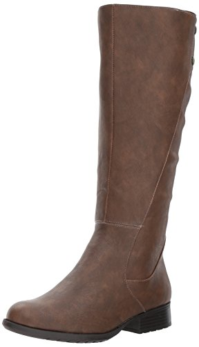 Buy womens brown leather boots 8