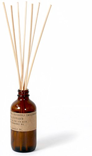 P.F. Candle Co. - No. 19: Patchouli Sweetgrass (Natural Reed Finish Bases)
