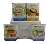 Home, Sweet Home Delicae Slow Cooker Meal Bundle: 4 Different Meals