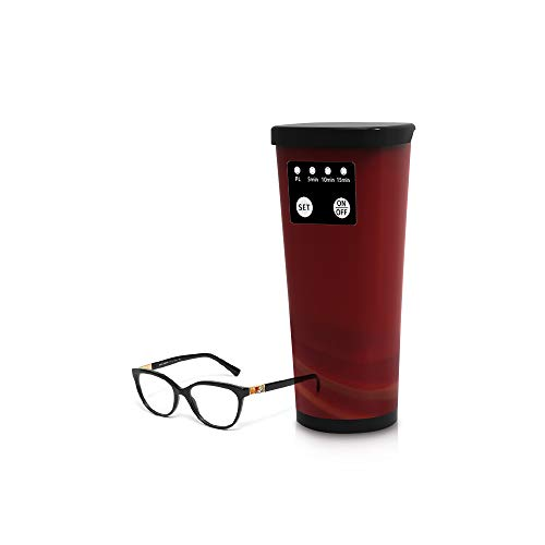 DONGSEN Portable Ultrasonic Eyeglasses Cleaner,Digital for sale  Delivered anywhere in Canada