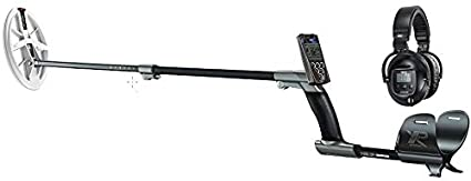 "XP Deus Metal Detector with WS5 Full Sized Headphone + Remote + 9.5"" Elliptical High"