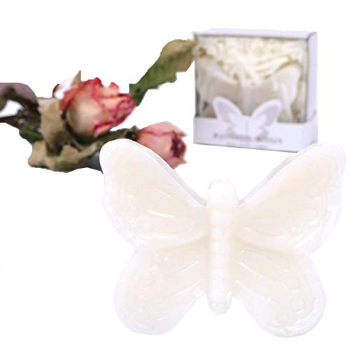 AI·X·IANG Handmade Butterfly Style Soap Favors for Baby Shower,Wedding Bridal Shower Favors Decorations (12 Pack)