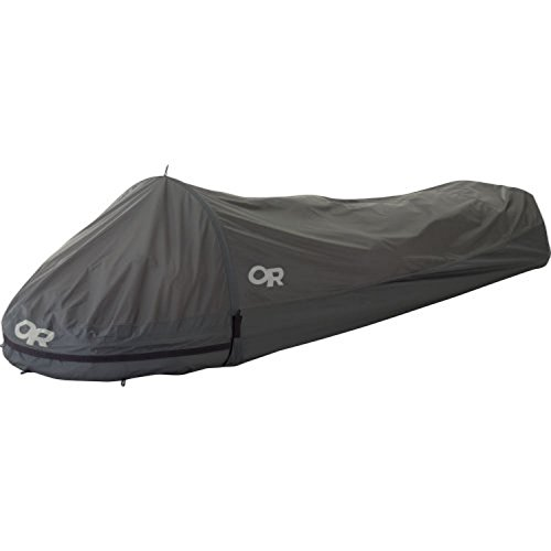 Outdoor Research Helium Bivy Pewter OS & Knit Cap Bundle by Outdoor Research, USA