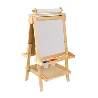 Kidkraft Artist Easel - Marker Tray Board Easel Finish: Natural