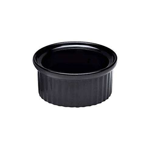 Elite Global Solutions R2-B Ribbed Ramekin, 2 5/8