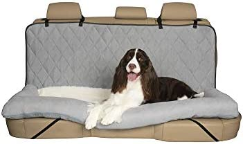 PetSafe Solvit Car Cuddler Seat Cover Dog Bed – Bench, Bucket Covers for Cars, SUVs and Trucks