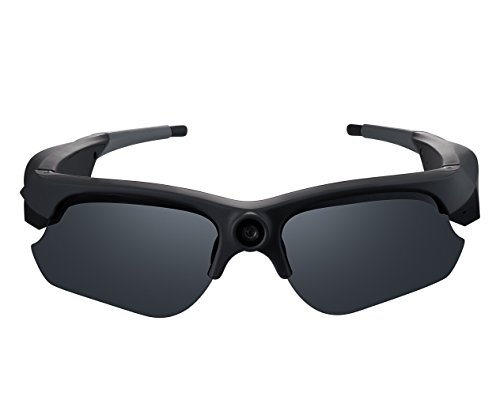 Spy Tec Wide Angle 1080P HD Camera Glasses Video Recording Sport Sunglasses DVR - Dvr Sunglasses
