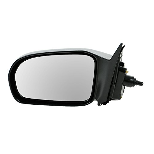 Manual Remote Side Door Mirror Left LH Driver Side for 01-05 Honda Civic Coupe