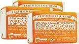 Dr. Bronner's Magic Soaps: Pure Castile Bar Soap, Organic Citrus 5 oz (3 pack) Review