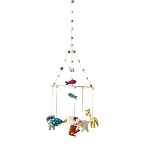 ool Crib Mobile - Noah's Ark Animals (Animal Ark Crib)