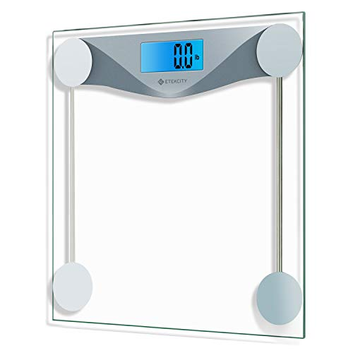 Etekcity Digital Body Weight Bathroom Scale with Body Tape...