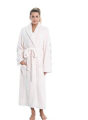 Barefoot Drems Barefoot Dreams CozyChic Inspiration Bath Robes for Men and Women, Plush, Fluffy, Pink, 1