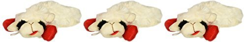 et 6-Inch Lamb Chop Dog Toy, 3 Pack ()