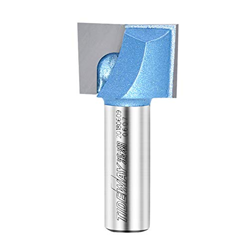1/2-Inch Shank 1-1/8-Inch Cutting Dia Double Flute Carbide T
