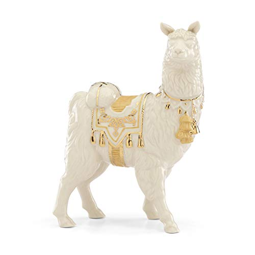 Lenox 886158 First Blessing Nativity Llama Figurine