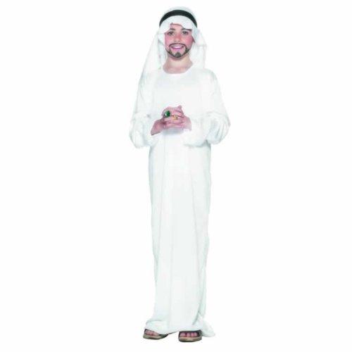 Medium White Boys Arabian Costume