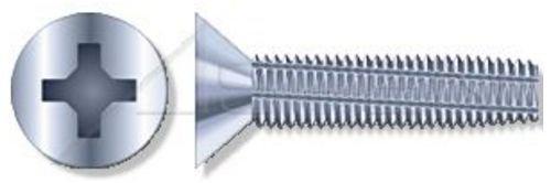 (450 pcs) M4 X 12mm, DIN 7516-D, Metric, Thread-Cutting Screws, Flat Phillips Drive, Full Thread, Steel, Zinc Plated by ASPEN FASTENERS (Image #2)