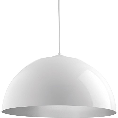Silver Dome Pendant Light - 7