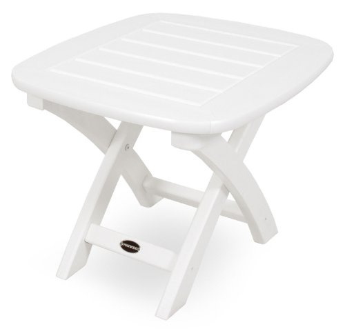 POLYWOOD NSTWH Nautical Table White product image
