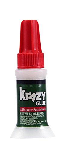 Krazy Glue KG92548R Instant Krazy Glue 0.18-Ounce All Purpose Brush - Pack of 6 by Krazy Glue K (Image #1)