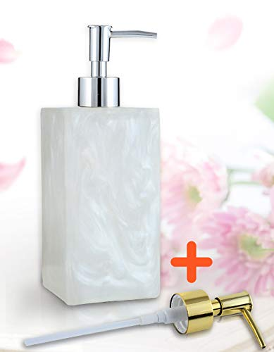 Hand Soap Dispenser, Soap Dispenser Pump Bottle for Kitchen and Bathroom, Lotion Essential Oils Shampoo Shower Gel Bottle