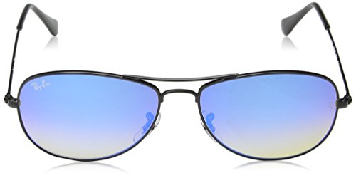Ban 3362 001 Negro Blue Gafas Mirror Black Lenses Ray de sol FdxEwdq5