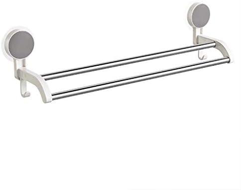 BZM-ZM 浴室ステンレス鋼タオルロッドハードウェアのペンダントをぶら下げシンプルなバスルームトイレストレージロッドダブルポールタオルラック