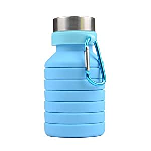 Arateck 550ML Silicone Foldable Coffee Cup Drinking Bottle Outdoor Travel Collapsible Cup