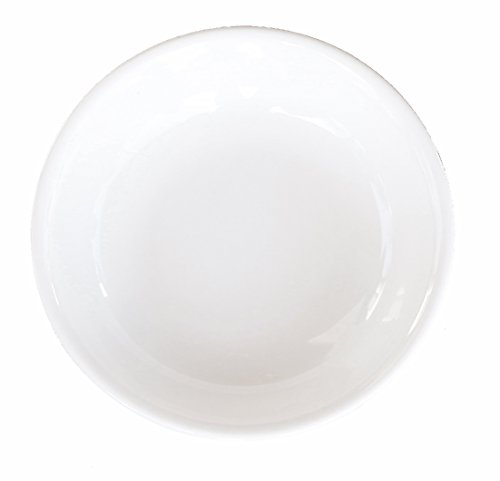 Ceramic Side Sauce Dish and Pan Scraper, 3.75 Inch, 3 Ounce, Bone White, 12-Pack by MBW NW Brands (Image #5)