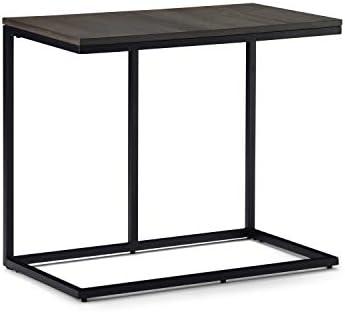 SIMPLIHOME Ward Wide C Side End Tables
