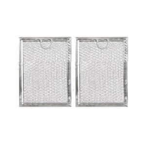 WB06X10309 Microwave Grease Filter - 2 Pack For GE Microwave-Aftermarket Replacement WB06X10359 ( Size 7.6'' X -