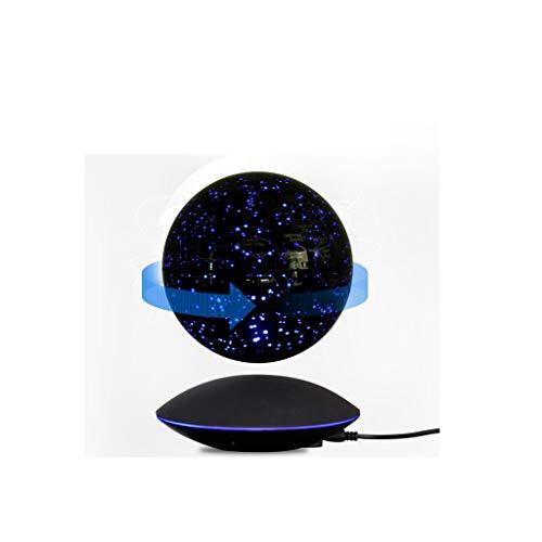 Hzpxsb Magnetic Field Suspension World Map Globe Home Desk Decoration