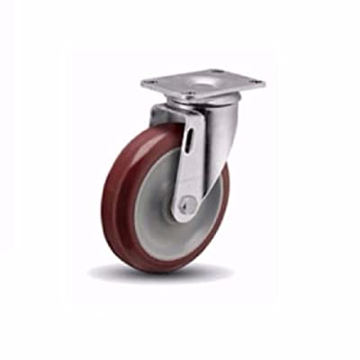 "New Colson Swivel Caster w 5""x1-1/4"" Polyurethane Wheel"