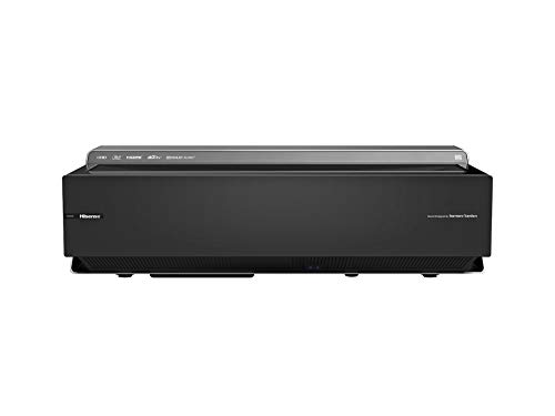 Hisense 100L10E 100-Inch 4K UHD Smart Laser Projector TV with Screen and 2.1 Audio System (2019)